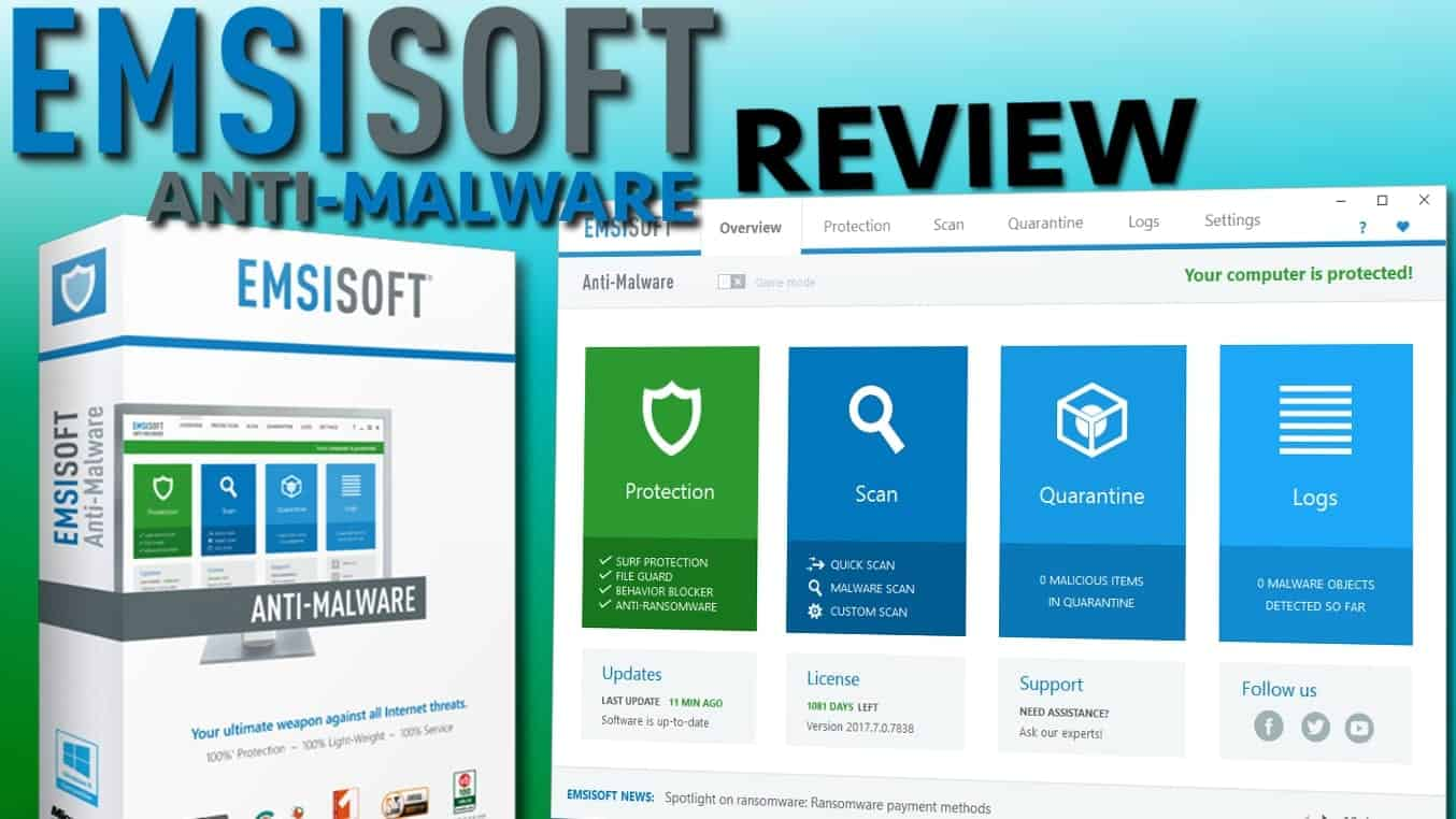 emsisoft anti malware license key