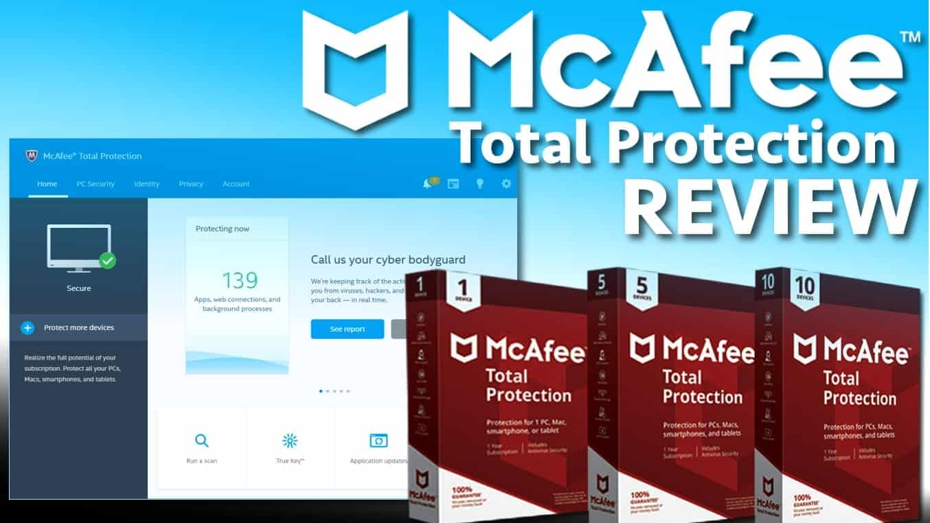 McAfee Total Protection Review | Geek's Advice