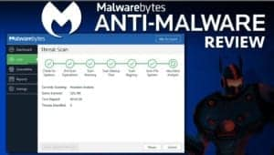 Malwarebytes Anti-Malware is a strong security software