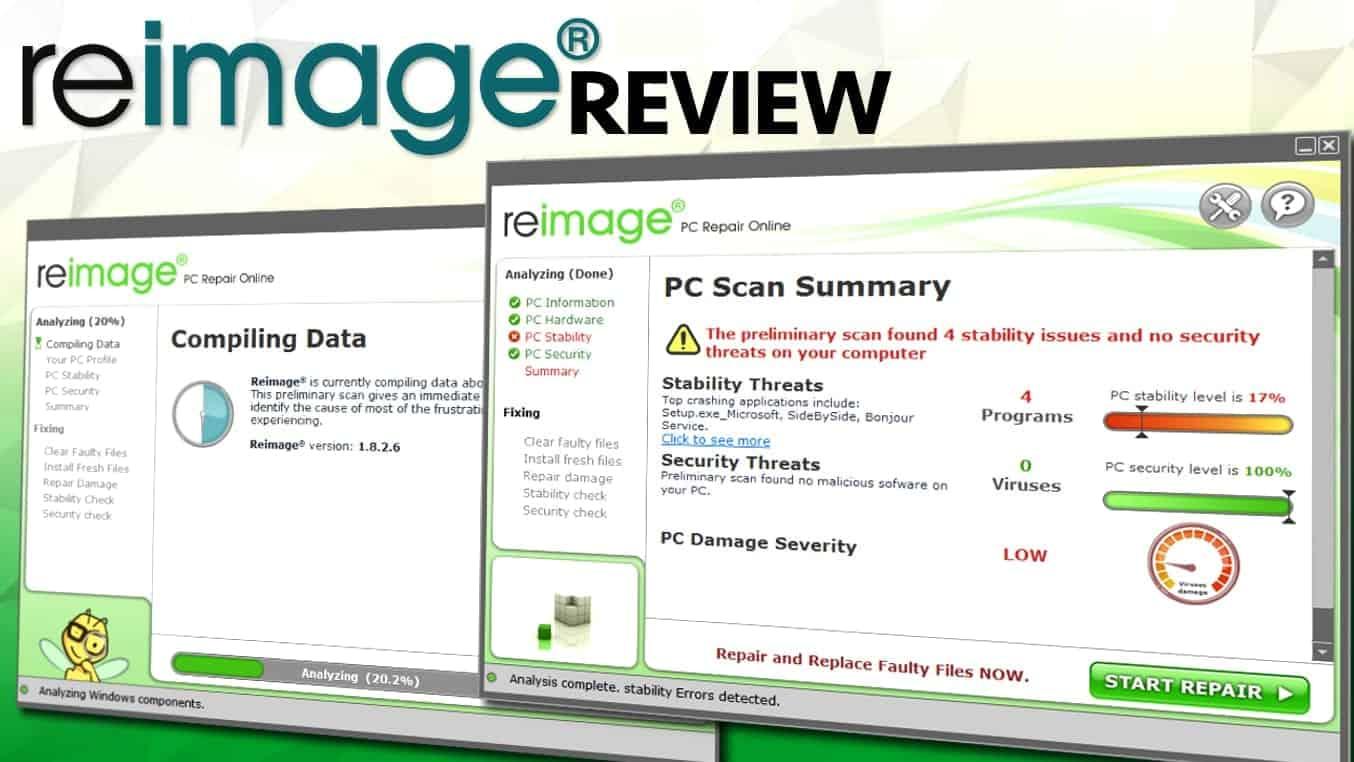 Reimage-Repair-Review