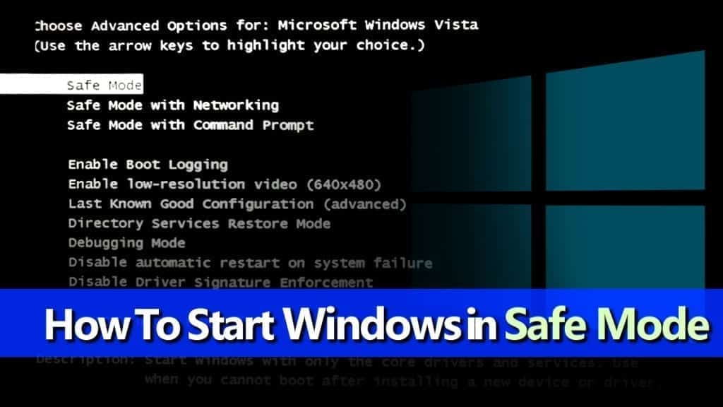 Easy Guide to start windows in safe mode