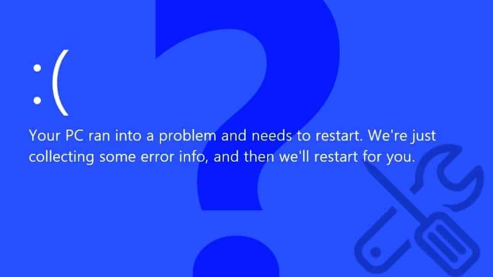 Fix Your PC Ran Into A Problem And Needs To Restart | Geek's