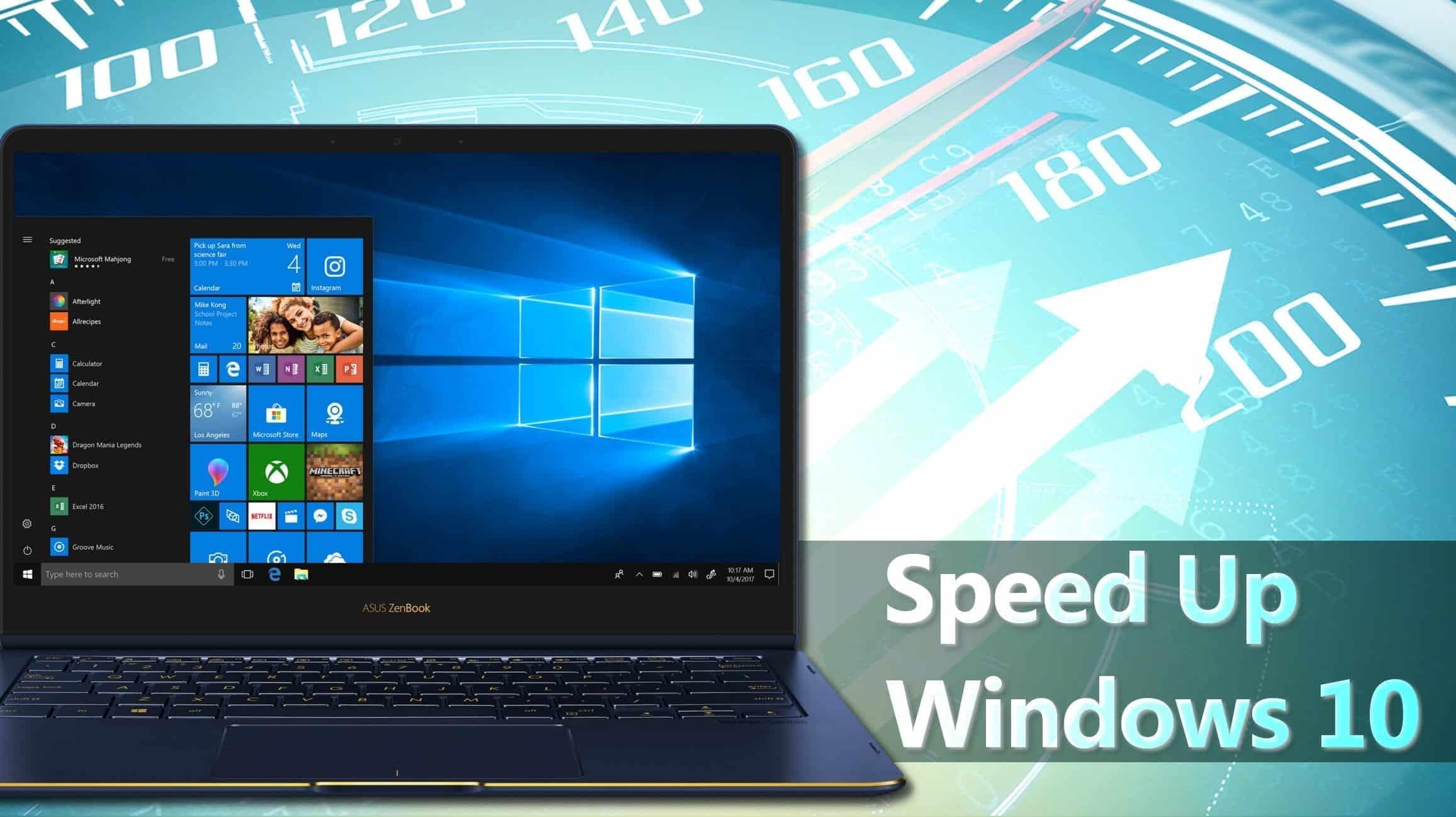 10 Easy ways to speed up windows 10