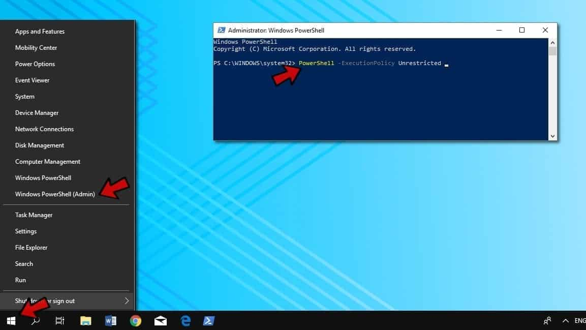Fix search problems in Windows via Powershell