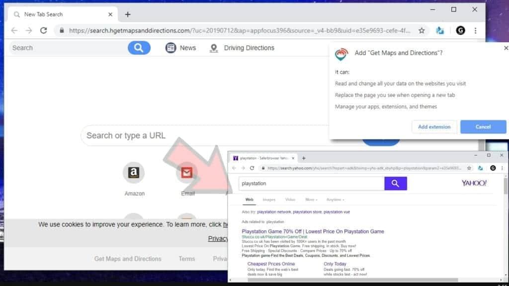 search.yahoo.com redirect virus example