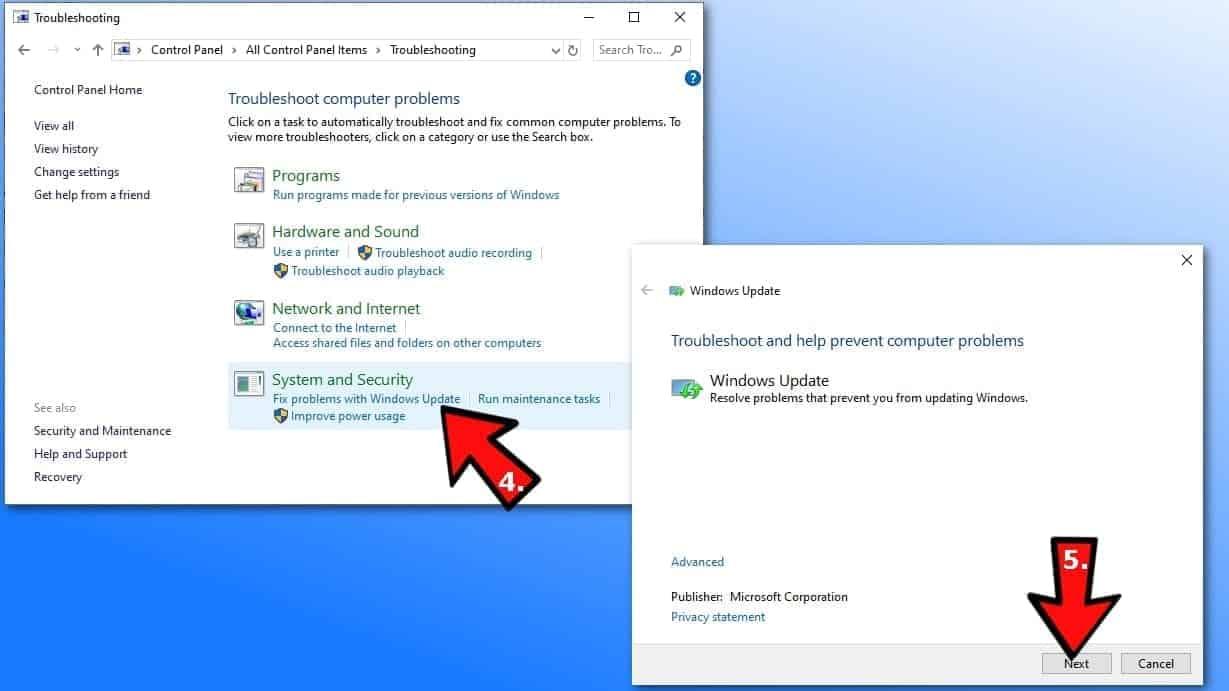 Troubleshoot Windows updates to solve 0x8024002E wsus