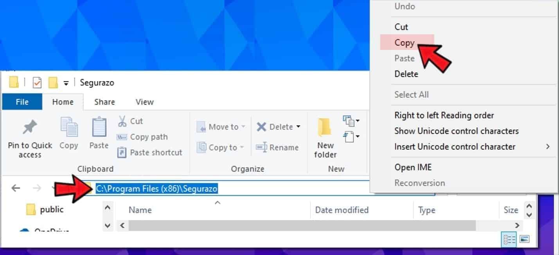 copy file path