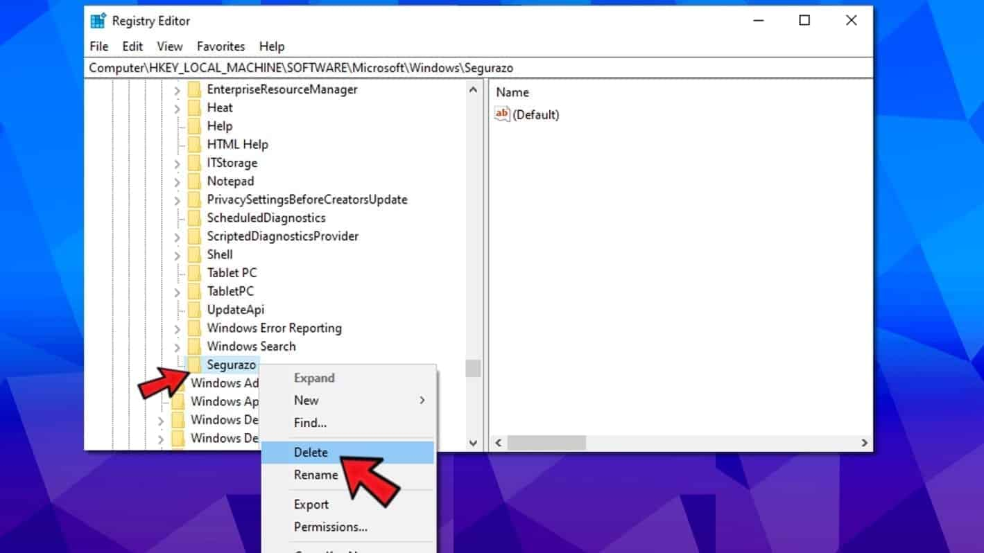 Remove Segurazo Antivirus (Easy Uninstall Instructions