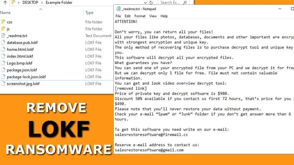 remove lokf ransomware virus